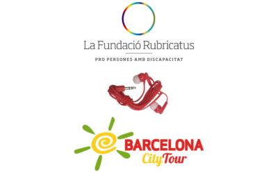 La Fundació Rubricatus i CityTour uneixen forces per lluitar contra l'emergència climàtica